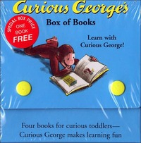 Curious George: Boxed Board Book Set by H.A. Rey