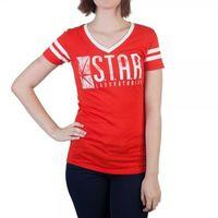 DC Comics: Flash Star Labs V-Neck T-Shirt (XL)