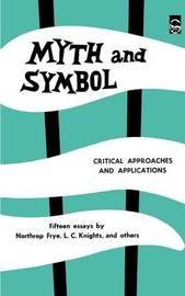 Myth and Symbol by Northrop Frye