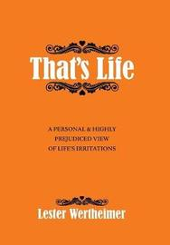 That's Life by Lester Wertheimer
