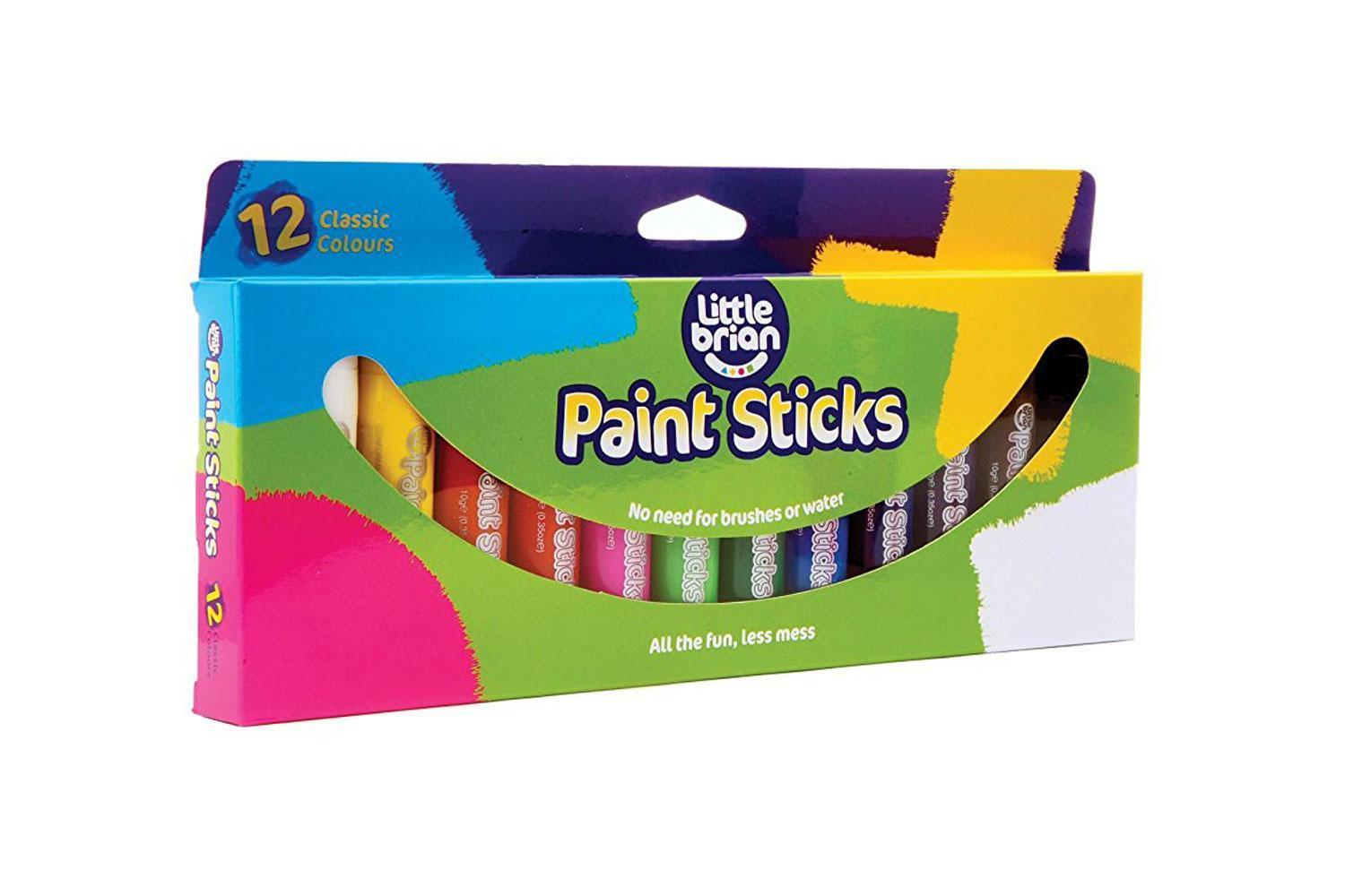 Little Brian: Paint Sticks - Classic (12 Pack) image