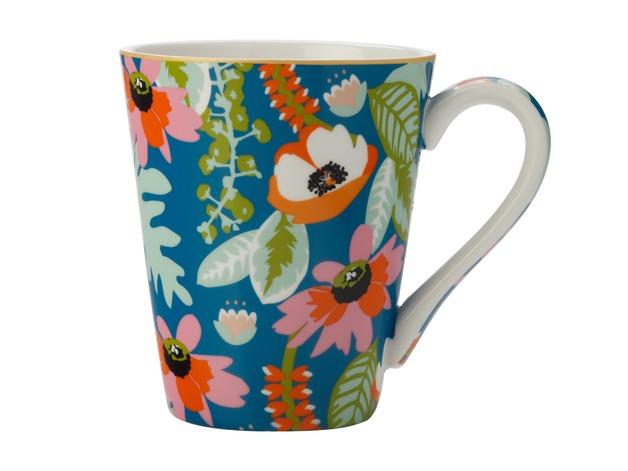 Maxwell & Williams: Teas & C's Glastonbury Mug - Alpinia Teal (360ml)