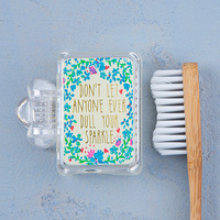 Natural Life: Toothbrush Cover - Don't Dull Sparkle