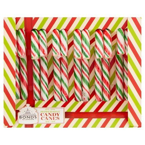 Bonds Peppermint Candy Canes 12pk