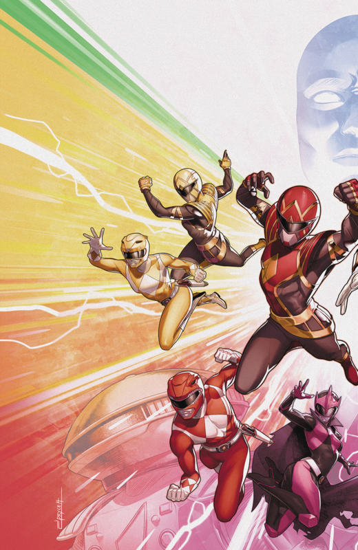 Mighty Morphin Power Rangers - #50 (Cover A) by Ryan Parrott