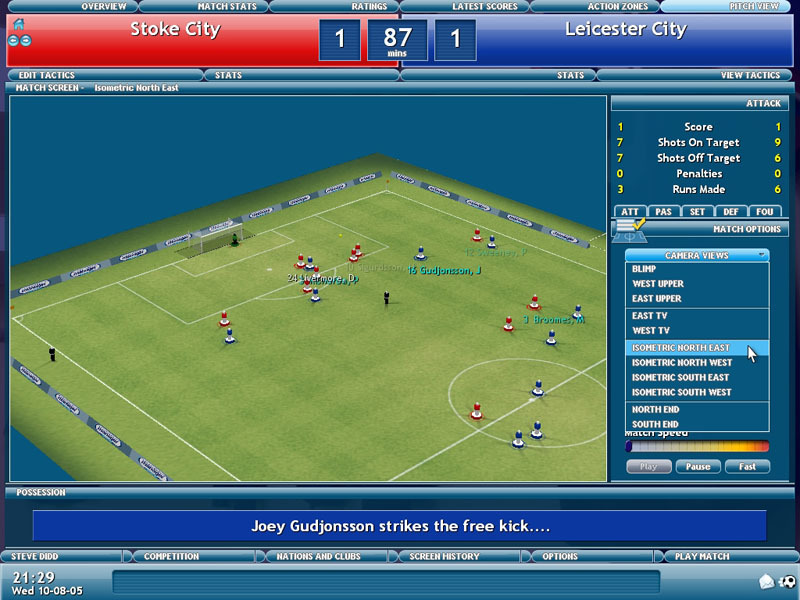 Championship Manager 2006 for PC Games image