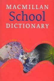 Macmillan School Dictionary by Macmillan image