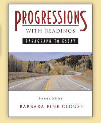 Progressions with Readings by Barbara Fine Clouse