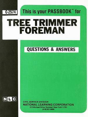 Tree Trimmer Foreman