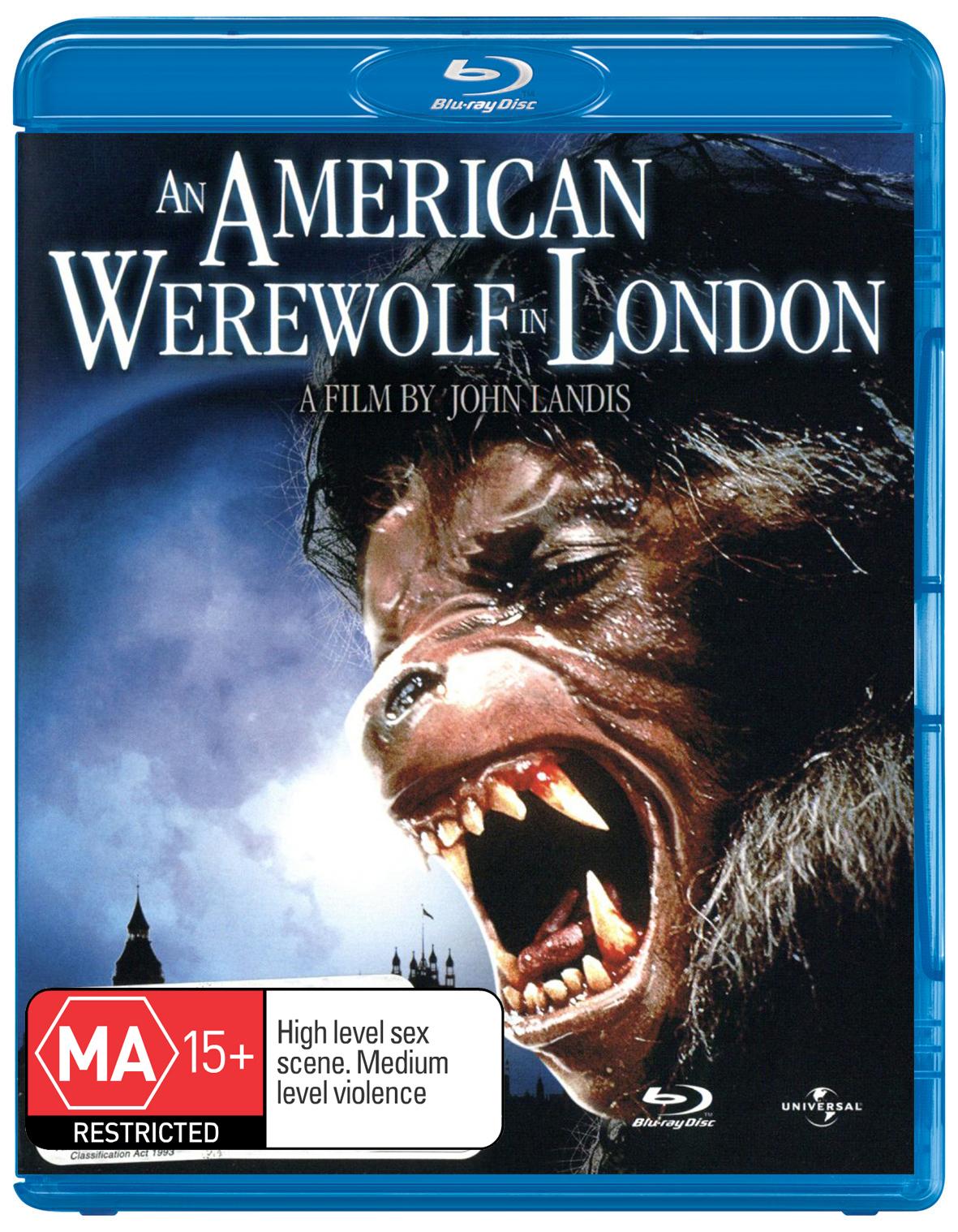 An American Werewolf in London on Blu-ray image
