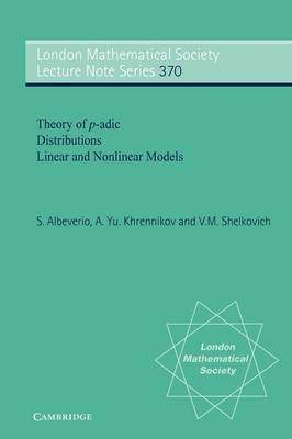 Theory of p-adic Distributions by Sergio Albeverio