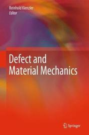 Defect and Material Mechanics image
