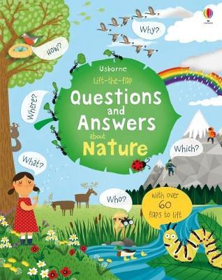 Lift-The-Flap Questions and Answers about Nature by Katie Daynes image