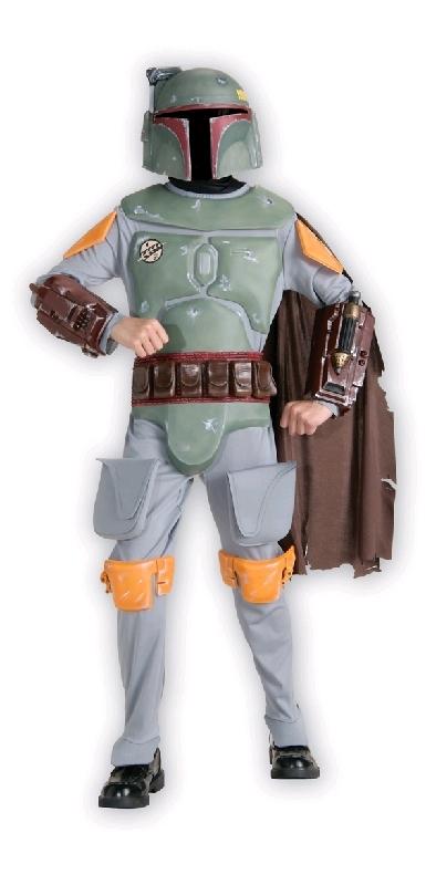 Star Wars: Boba Fett Deluxe Costume - Childrens Size Medium