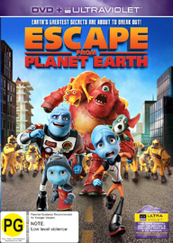 Escape From Planet Earth on DVD