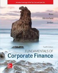 Loose Leaf for Fundamentals of Corporate Finance by Stephen M Ross