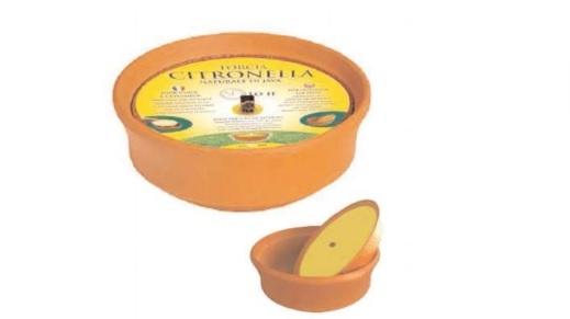 Large Citronella Pot Candle