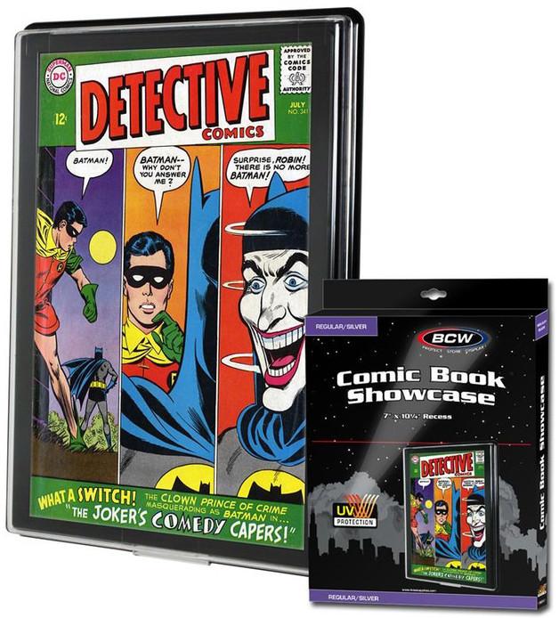 BCW: Comic Book Showcase - Silver (UV Resist)