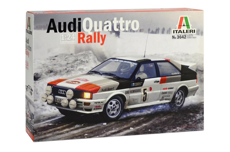 Italeri 1/24 Audi Quattro Rally - Model Kit image
