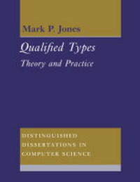 Distinguished Dissertations in Computer Science: Series Number 9 by Mark P. Jones image