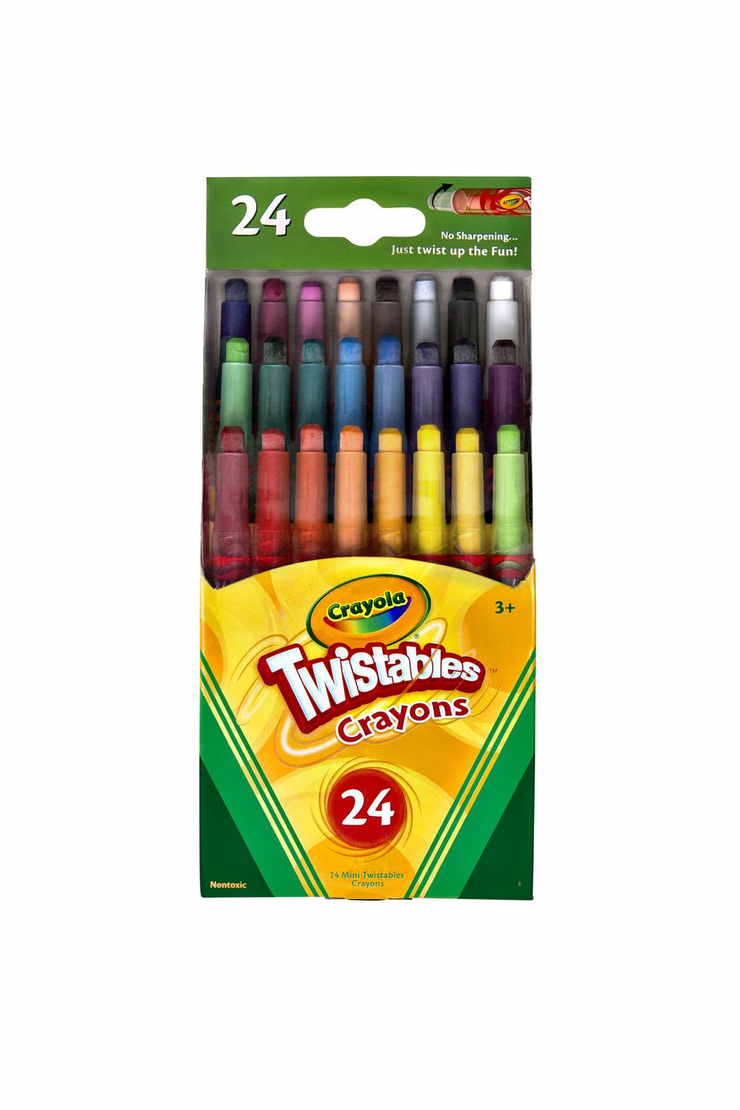 Crayola: 24 Mini Twistables Crayons image