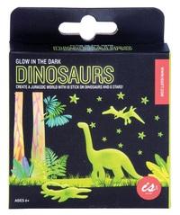 IS Gifts: Glow In The Dark - Dinosaur Wall Art