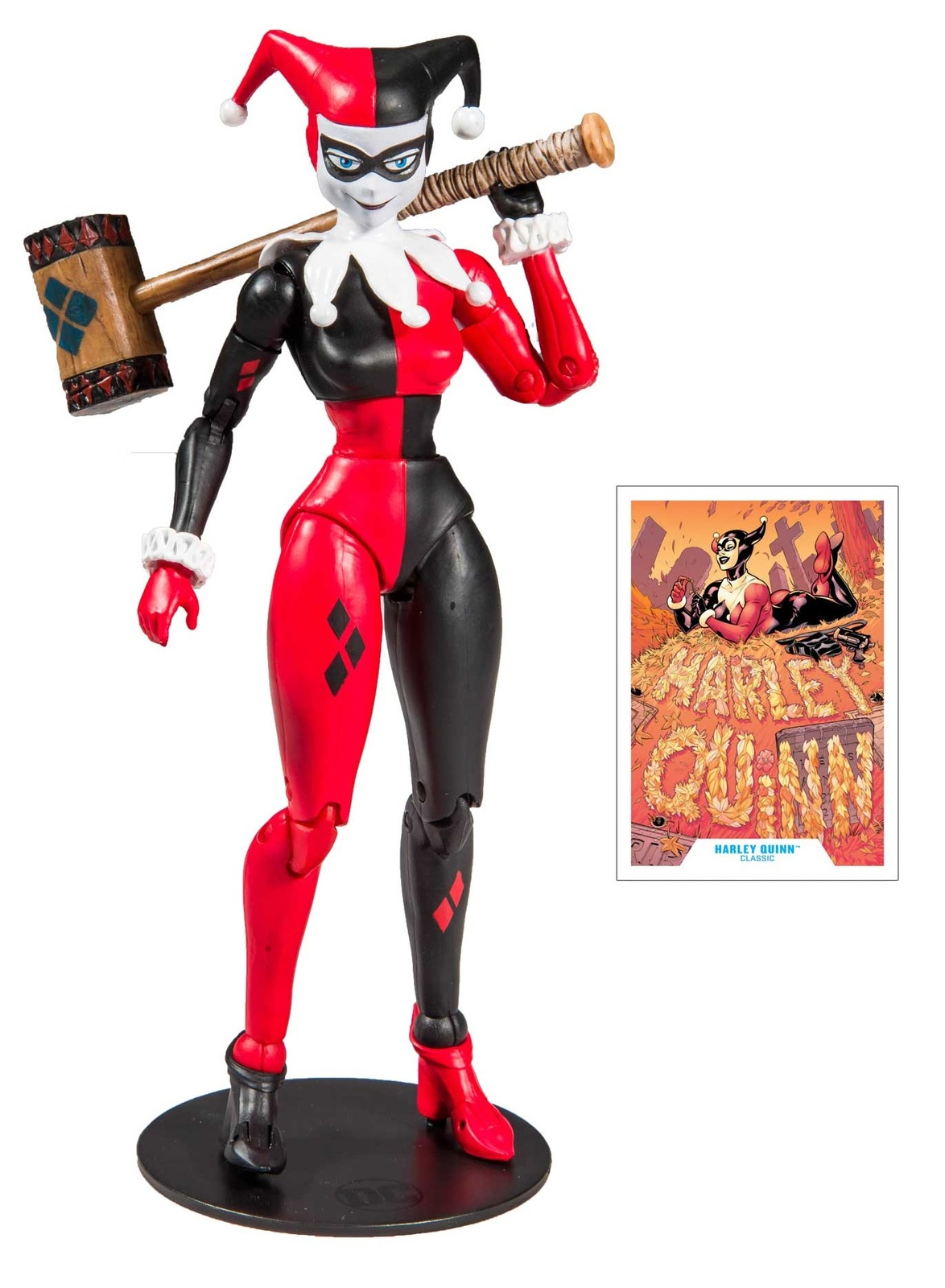 """DC Multiverse: Harley Quinn (Classic) - 7"""" Action Figure image"""