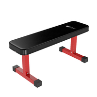Ape Style Dumbbell Weight Training Flat Bench (110x36x46cm)