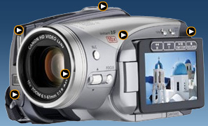 Canon HV20 image