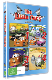 Little Cars 1-4 Box Set on DVD