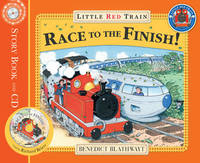 Little Red Train's Race to the Finish by Benedict Blathwayt image