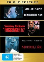 Demolition Man / Passenger 57 / Murder At 1600 - Triple Feature (3 Disc Set) on DVD