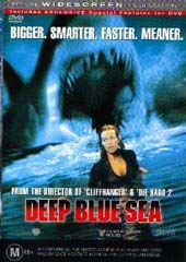 Deep Blue Sea on DVD
