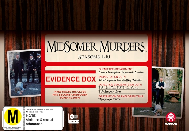 Midsomer Murders: Case Files - Vol 1 (Seasons 1-10 Box Set) on DVD