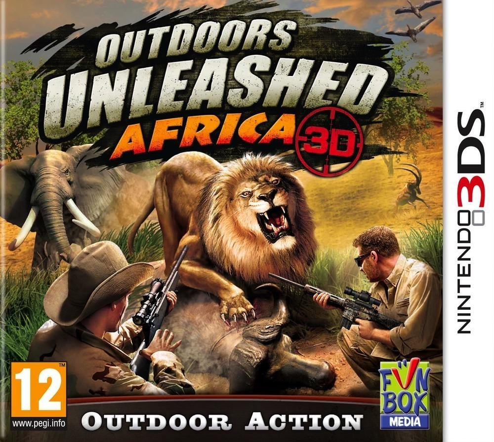 Outdoors Unleashed: Africa 3D for 3DS image