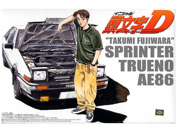Aoshima: 1/24 Toyota 86 - Takumi Fujiwara Trueno (Comics Vol.1 Ver.) - Model Kit