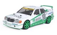 """TAMIYA 1/10 Mercedes-Benz 190E """"debis"""" - TT01E Evo.II Team Zakspeed - Assembly kit image"""