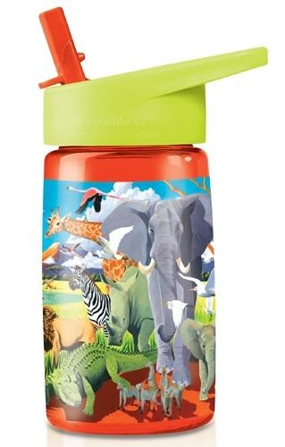 Crocodile Creek: Tritan Drink Bottle - Safari (470ml)