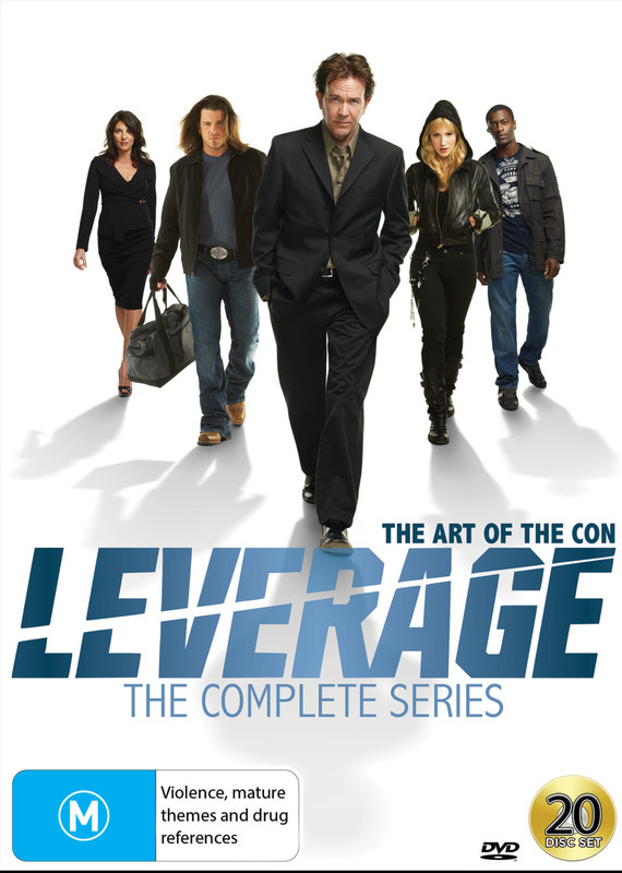 Leverage - The Complete Series on DVD