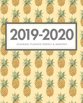 2019-2020 Academic Planner Weekly and Monthly by Ellejoy Notebooks