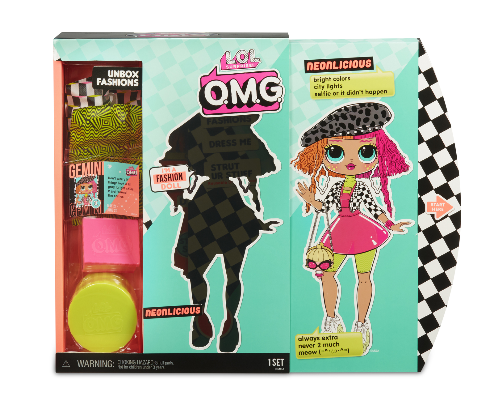 L.O.L. Surprise! - O.M.G Fashion Doll (Neonlicious) image