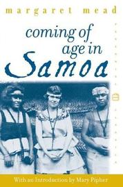 Coming of Age in Samoa by M. Mead image
