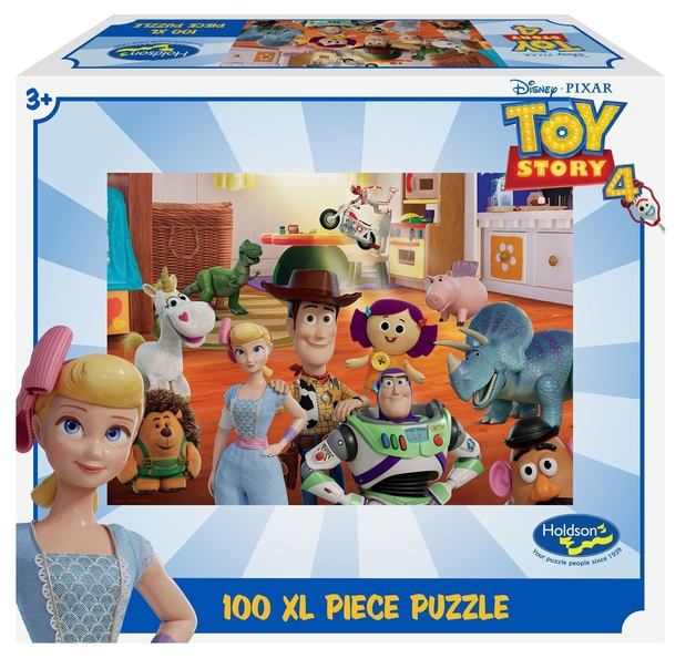 Holdson XL: 100 Piece Puzzle - Toy Story 4 (Toys at Play)