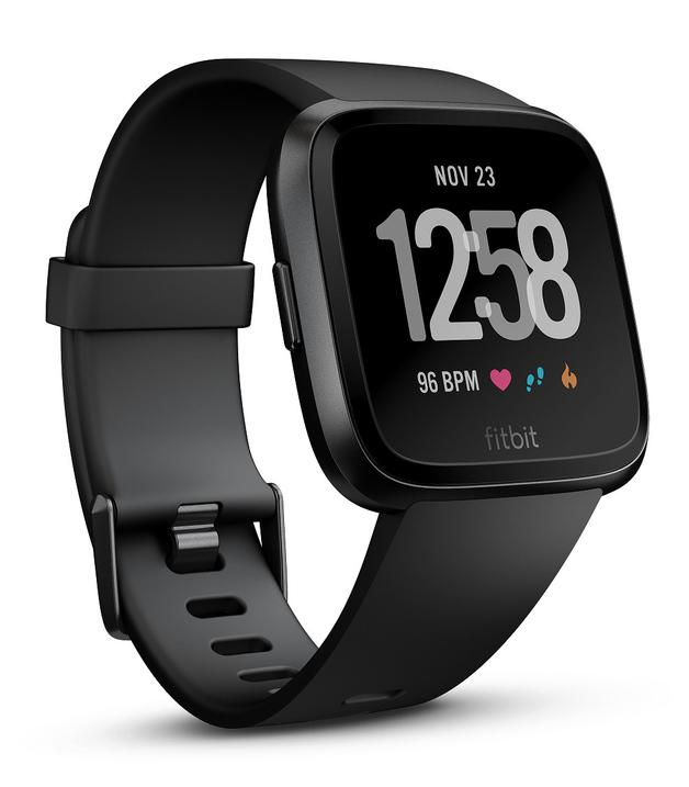 Fitbit Versa Smart Fitness Watch - Black