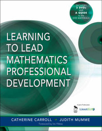Learning to Lead Mathematics Professional Development by Catherine E. Carroll image