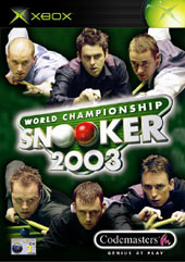 World Champ Snooker 2003 for Xbox