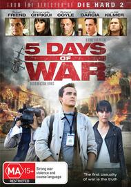 5 Days of War on DVD