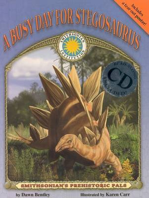 A Busy Day for Stegosaurus by Dawn Bentley image