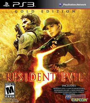Resident Evil 5 Gold Edition for PS3