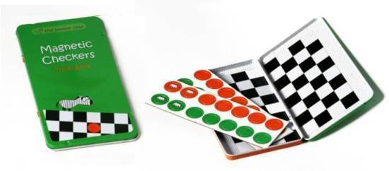 To Go: Magnetic Travel Game - Checkers